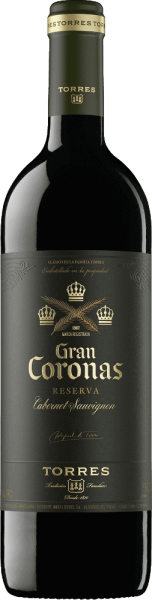 The intense red colour of Miguel Torres' Gran Corona is similar to that of a ruby red brick. This Spanish red wine is made from the Cabernet Sauvignon (85%) and Tempranillo (15%) grape varieties. Aromatically complex, this red wine fills the nose with aromas of dark fruits (sour cherries, wild berries), spicy notes (black pepper, cloves) and hints of herbs and undergrowth. Gentle and full-bodied, with ripe fruit and delicate, slightly earthy spice as well as clearly structured, silky integrated tannins, this Spanish wine pampers the palate. Finally, this red wine provides a complex, strong, aromatic, concentrated and round feeling, followed by a long, supple and elegant finish. Vinification of Miguel Torres Gran Coronas First the Tempranillo grapes are harvested. The Cabernet Sauvignon grapes are then harvested. The grapes are crushed in the winery and fermented for 7-8 days at 28-29 °C in stainless steel tanks. The ageing takes place for twelve months in French oak barrels. This wine continues to rest in the bottle for some time. Food recommendation for the Gran Coronas Cabernet Sauvignon from Miguel Torres Enjoy this dry red wine from Spain with sausage and ham, stewed eggplants, tender lamb and beef (roasted, grilled), game dishes and various Spanish hard cheeses in the style of Manchego. Awards for the Torres Gran Coronas Reserva International Wine Challenge: Silver for 2014