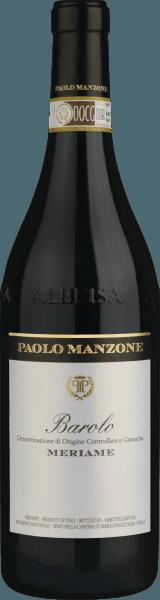 Meriame Barolo DOCG 2016 - Paolo Manzone