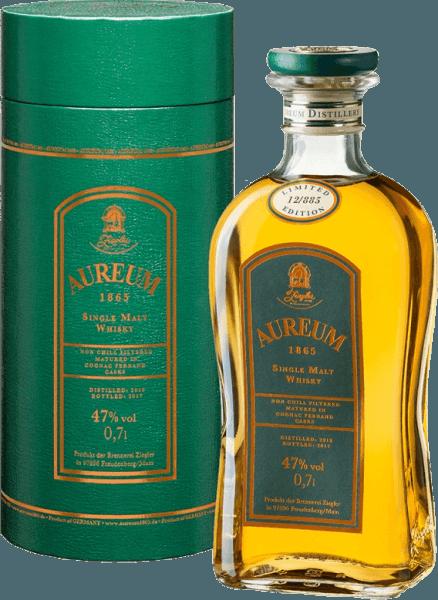 Aureum 1865 Cognac Ferrand Single Malt Whisky 0,7l - Ziegler