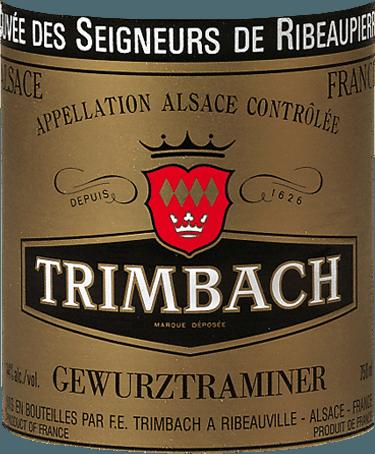 Gewurztraminer Cuvée des Seigneurs de Ribeaupierre 2013 - Trimbach von Trimbach