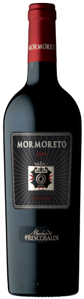 The Mormoreto Toscana IGT 2012 by Castello di Nipozzano of the Frescobaldi family captivates with its impenetrable deep ruby red colour in the glass, with complex aromas of ripe red fruits such as blackberries and raspberries, notes of bitter cocoa powder, cocoa butter and roasted coffee beans and light notes of vanilla and cinnamon. In the taste, Mormoreto 2012 reveals itself persistent, round, soft and velvety, on the palate and in the aftertaste, the impressions perceived by the nose are confirmed, additionally enriched with a clear note of melted chocolate, raspberry freshness, whisky and vanilla tobacco. Production of the Mormoreto by Castello di Nipozzano The Frescobaldi family red wine from Castello di Nipozzano is named after the Mormoreto vineyard, which was created in 1976 and since 1983 has produced this award-winning, opulent and long-lasting wine, only produced in the best vintages.After the manual harvest, for the Mormoreto 2012 Cabernet Sauvignon, Cabernet Franc, Merlot and Petit Verdot are fermented separately for 35 days in stainless steel tanks at a controlled temperature, macerated and left on the skins for a further 20 days. The alcoholic fermentation is immediately followed by malolactic fermentation. The cuvée is then aged for 24 months in partly new, partly used barriques for the second time and then aged in the bottle for a further 6 months. Food pairing for the Mormoreto of Castello di Nipozzano by Frescobaldi This opulent, refined and long-lasting top quality wine of the Frescobaldi family is excellent with well cooked, stewed meat dishes, roasts and meat with sauce, but also perfect with mature cheese. Awards James Suckling - 93 pointsWine Spectator - 93 Points