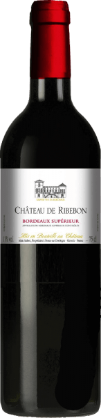 This cuvée enchants with a deep purple red with reddish-violet highlights in the glass. The seductive bouquet of Château de Ribebon Bordeaux Supérior AOC by Château de Ribebonis based on red and black berries as well as juicy-sweet ripened cherries, accompanied by fine woody notes and warm spice notes. The round, full-bodied and powerful taste is characterized by a good body, a beautiful structure and tangy tannin. Nevertheless, it is aromatically balanced, soft and elegant. The long finish is accompanied by a trace of oak wood. A wonderful red wine with eggplant tomato vegetables, fresh pasta with braised mushrooms, grilled and fried meat, minced roast with rosemary, but also with dishes of North African cuisine (tajine, couscous) and with spicy matured cheese (brie, camembert, mountain cheese).