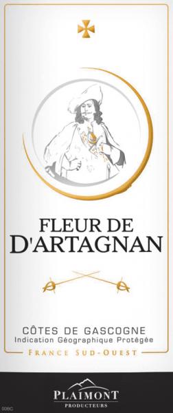 Fleur de d'Artagnan Rouge Côtes de Gascogne 2019 - Plaimont von Fleur de d´Artagnan