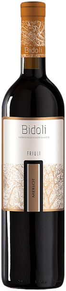 The Merlot Grave del Friuli by Bidoli sparkles in a glass of ruby red, unfolding its open, fruity and seductive bouquet with the aromas of blueberries, blackcurrants and raspberries. This harmonious red wine from Italy shows on the palate with the flavours of red berry fruits, such as raspberries, and with velvety tannins and a soft impression merges into a fruity aftertaste. Food recommendation for the Merlot of Bidoli Enjoy this dry red wine with poultry, rib-eye steak with oven vegetables or semi-ripe cheese.