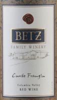 Vorschau: Cuvée Frangine 2014 - Betz Family Winery