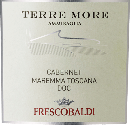 The Terre More Maremma Toscana DOC by Tenuta dell 'Ammiraglia by Frescobaldi is presented in the glass in a rich, shiny purple. Various aromas unfold on the nose, including pickled cherries, blackberry and currant, which flow into spicy and balsamic notes of cinnamon and licorice. On the palate, this elegant red wine cuvée from the Maremma is soft and engaging, modern in taste, but Tuscan in tradition. Very long finish with slightly fruity-sweet aromas in the aftertaste. Production of Terre More Maremma Tuscany by Tenuta dell 'Ammiraglia This red wine from southern Tuscany is a skilfully composed cuvéeof beautiful intensity and elegance from 70% Cabernet Sauvignon and Cabernet Franc, Merlot and Syrah. After mash fermentation with the shells for 13 days, malolactic fermentation in barriques in second and third use immediately follows, in which the ageing takes place for a period of 12 months. Recommendations for the Terre More of Tenuta dell 'Ammiraglia Enjoy this fruity Tuscan red wine with grilled meat, pasta dishes with minced meat or tomato sauce or a spicy pizza 4 formaggi with four cheeses. James Suckling Awards - 90 Points