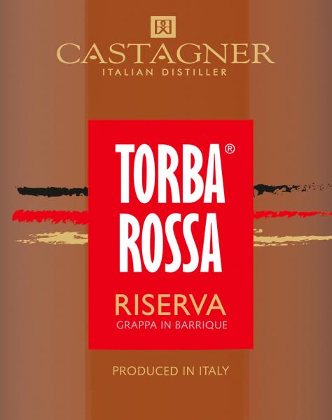 Torba Rossa Grappa Riserva 0,5 l - Castagner von Roberto Castagner