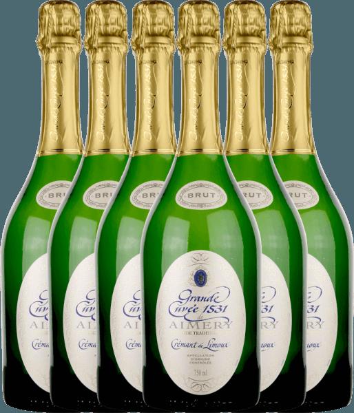 6er Vorteilspaket - Aimery Grande Cuvée 1531 Crémant Brut - Sieur d'Arques