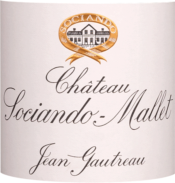 Château Sociando-Mallet Haut Médoc by Château Sociando-Mallet is a deep dark, almost opaque, dense purple colour. The juicy, fruity bouquet reveals aromas of plums, blueberries, ripe blackberries and spices, finely interwoven with notes of earth, forest soil and white flowers. This is underlined by oak nuances. On the straight and dense palate, it shows muscular, excellently structured tannins and an impressive power. Both are enveloped by fruity cherry and plum notes as well as nuances of red berries. All in all a wine full of energy and of great class, well balanced and absolutely promising. Recommended food for the Château Sociando-Mallet Haut Médoc It is a delicious accompaniment to braised oxtail, roast beef or lamb, game dishes with fruity sauces and spicy mature cheese. Awards Decanter - 17/20 points Gault & Millau - 17/20 points Vinum - 17,5/20 points