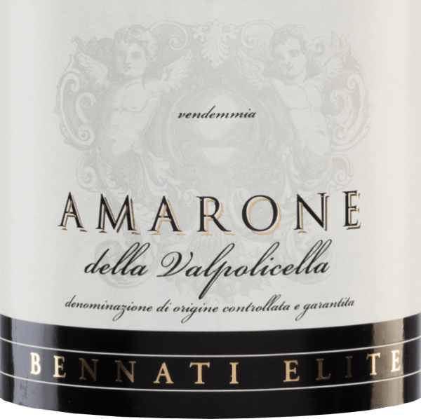 The Corte Pitora Amarone from Bennati is an expressive red wine cuvée from the grape varieties Corvina (85%), Rondinella (10%) and Molinara (5%). In the glass, this Italian wine sparkles in a dark ruby red. The bouquet has multi-layered aromas of ripe plums and juicy cherries with finely floral notes. On the palate, this red wine is full-bodied with light spice notes and a strong tannin structure. The finale is wonderfully long, elegant and borne by cherry tones. Vinification of Bennati Amarone della Valpolicella Corte Pitora North-west of Verona, from the Veneto region, the grapes for this red cuvée come from 15-year-old vines. After carefully picking the grapes, they are mashed into the wine cellar. In the stainless steel tank, the mash is fermented and then aged in large wooden barrels for a total of 24 months. This gives the wine its intense colour, strong tannins and spicy hints. Food recommendation for the Corte Pitora Bennati Amarone Enjoy this dry red wine from Italy with dishes of game - for example wild boar roast with blueberry and dumplings - or with spicy cheeses, such as blue cheese.