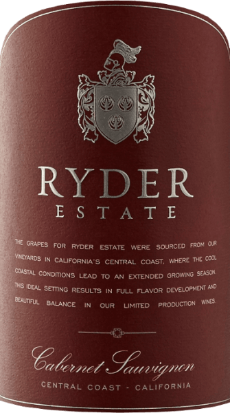 The Ryder Cabernet Sauvignon by Scheid Vineyards shimmers in a dark ruby red. In the nose, wonderful aromas of ripe black cherries and freshly picked black currants unfold. This is accompanied by hints of dark dark dark dark chocolate and roasted vanilla. This complex palate of aromas can also be found on the palate. This Californian red wine has a balanced tanning structure and convinces with its wonderfully full-bodied personality.  Food recommendation for the Scheid Vineyards Ryder Cabernet Sauvignon This red wine from California harmonizes perfectly with Mediterranean appetizers - such as bruschetta,  antipasti misti or even minestrone - lamb tajine or even creamy cheeses.  Awards for Ryder Cabernet Sauvignon San Francisco Chronicle Wine Competition: Silver for 2014 San Diego International Wine Competition: Silver for 2014 California State Fair: Gold for 2014