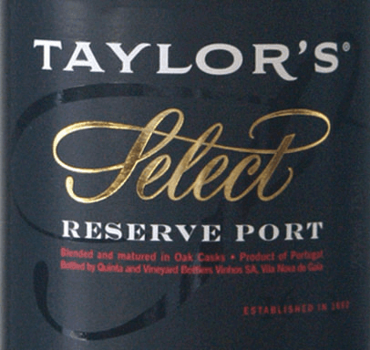 The Ruby Select Reserve from Taylor's Port from the Portuguese wine-growing region DOC Douro is produced from the grape varieties Tinta Cao, Tinta Roriz, Tinta Barocca, Touriga Francesa and Touriga Nacional. In the glass this port shimmers in a deep ruby red with garnet highlights. The bouquet is carried by ripe aromas of dark berries - blackberry, elderberry and blackcurrant come to the fore - accompanied by a hint of liquorice. On the palate, this port wine has a full-bodied, opulent body with a firm structure. The dark berry fruit of the nose combines with notes of ripe cherries and harmonises wonderfully with the well-balanced acidity. The finish has a pleasant length. Vinification of Taylor's Port Ruby Select Reserve Traditionally, the grapes for this port are harvested by hand at Taylor's and for the most part completely destemmed in the wine cellar. The grapes are crushed and fermented in stainless steel tanks. Today, Taylor's Port uses state-of-the-art technology to ensure that the cap is pressed down regularly, allowing the variety of aromas, colour pigments and fullness of flavour to pass into the mash. As soon as half of the sugar is fermented, the fermentation process is stopped by the addition of high-proof distillate. This preserves the natural residual sweetness of this wine. Finally, this port wine matures in large wooden barrels until it is filled onto the bottle. Food recommendation for the Select Reserve Ruby Taylor's Port Enjoy this sweet port wine with spicy soft cheeses, such as Bavaria Blue, or with desserts with chocolate and fresh cherries.
