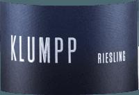 Vorschau: Riesling trocken 2019 - Klumpp