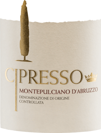 The Montepulciano d 'Abruzzo by Cipresso shines vividly ruby red in the glass. This red wine is characterized by a direct, inviting nose with notes of spices and forest fruits (forest strawberries, blueberries) as well as a hint of sour cherry aroma. Soft, harmonious and warm-hearted, this Italian wine blends with ripe, balanced tannins on the palate and flows into a long, pleasant aftertaste. Vinification of Cipresso Montepulciano d 'Abruzzo The hand-picked fully ripe grapes from the Cipresso winery are first destemmed, mixed and the resulting mash fermented in stainless steel tanks under temperature control. Then the mash is squeezed and this wine matures for a while in the tanks. Food recommendation for the Montepulciano d 'Abruzzo Cipresso This dry red wine from Italy goes wonderfully with rich, sumptuous appetizers (antipasti and tappas), red meat and game as well as spicy cheeses.