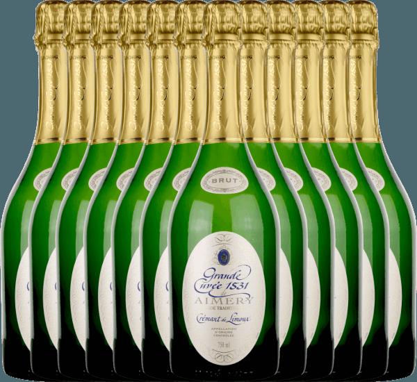 12er Vorteilspaket - Aimery Grande Cuvée 1531 Crémant Brut - Sieur d'Arques