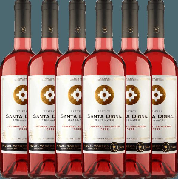 6er Vorteils-Weinpaket Santa Digna Rosé 2021 - Miguel Torres Chile