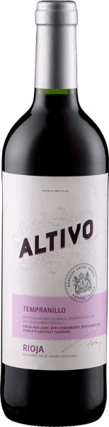 The Altivo DOCa by Bodegas Altivo glows in the glass in a bright dark red and unfolds a wonderfully fresh bouquet that seduces with the aromas of red fruits. The notes of juicy sour cherries can be seen in the foreground. This Tempranillo from Rioja is slim on the palate and fresh with hints of berry fruits with a hint of vanilla. Food recommendation for the Altivo DOCa from Bodegas Altivo Enjoy this dry red wine with paella, Iberian pork, poultry, pasta bolognese and pizza or with young cheese.