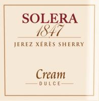 Vorschau: Solera 1847 Cream - Gonzalez Byass