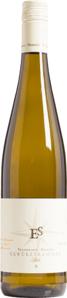 The Gewürztraminer by Ellermann - Spiegel glows deep yellow with light green reflections. In the nose there is a very typical scent of lychee, roses, elderberry and lime peel. On the palate, the white wine from Ellermann - Spiegel is juicy, soft. The harmony in this wine comes with the right amount of residual sweetness and melting. A wine that is really fun. Food recommendation to the Traminer from the Palatinate from the Ellermann and Spiegel winery Enjoy this Gewürztraminer with matured soft cheese but also with seafood and crustaceans as well as with Asian meat dishes.