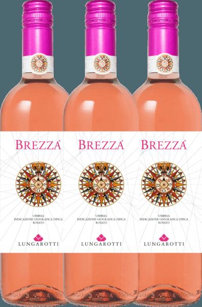 3er Vorteils-Weinpaket - Brezza Rosa Umbria 2020 - Lungarotti