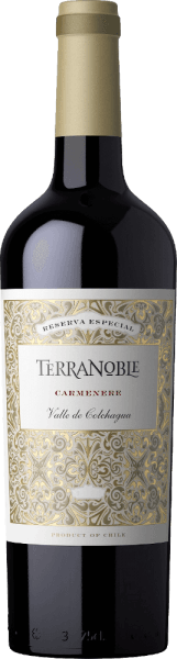 The Carmenère Reserva by Terra Noble enchants with a deep red-violet colour with blue tones in the wine glass.The fruity, harmonious fragrance is reminiscent of ripe figs and red berries that marry with chocolate, toast  and spice notes. Intense, fruity expressions with a hint of coffee and velvety-soft tannins are presented in the beautifully structured mouth.Serve with lamb or spicy cuisine.