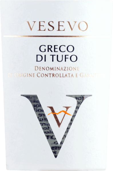 Vesevo's Greco di Tufo comes from Campania and brings all the power of the volcanic soils from this region into the glass. The first nose reveals a lot of ripe apple, juicy pear, floral nuances and a citrus-fresh touch. On the palate, this Italian white wine convinces with its fresh and accented body, which is accompanied by a good acidity and a wonderful fullness. Vinification of Vesevo Greco di Tufo This white wine from the DOCG Greco di Tufo is produced exclusively from grapes from volcanic soils. The grapes are destemmed, pressed and fermented. Food recommendation for the Greco di Tufo Vesevo Enjoy this exceptional white wine from Campania with fish and seafood. Awards for the Greco di Tufo Vesevo Concours International de Lyon - Gold for 2019 Robert Parker: 91+ points for 2018