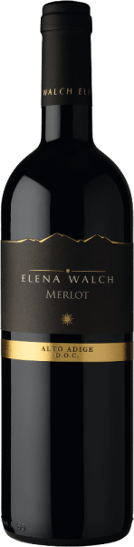The Merlot by Elena Walch appears in the glass in a fresh garnet red and presents its intense and pure bouquet, which fills with the fruity notes of forest berries, spicy aromas and discreet chocolate. On the palate, this red wine convinces with its grippy tannins, a rugged texture, as well as abundance and elegance. With its softness and juiciness, this wine creates a drinking pleasure with a pleasantly stimulating finish. Vinification for the Merlot by Elena Walch The vineyards are located in Tramin and Caldaro, these areas are characterized by their mild climate and, on the south side of the Alps, very Mediterranean climate. About 1800 hours of sunshine every year and maximum temperatures of up to 30 ° Celsius offer the perfect conditions for winegrowing. The traditional mashing of 10 days takes place at controlled temperature in the steel tank, followed by the biological acid degradation and storage in the medium-sized wooden barrel of 22 hectoliters and partly in the large wooden barrel to 80 hectoliters of French or Slavonic oak. Food recommendation for the Merlot by Elena Walch Enjoy this dry red wine with meat dishes, such as steaks and roasts, or with cheese.