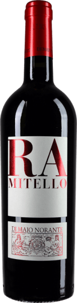 The Ramitello Biferno Rosso DOC by Di Majo Norante is intensely ruby red with violet reflections in the glass. The bouquet reveals fragrances of ripe soft cherries, juicy blackberries and other dark forest berries, plum, forest floor and hints of leather and liquorice. On the palate, this red wine from the Molise is fantastically round, juicy, full-bodied, the fruity and spicy taste nuances are perfectly blended, the balance between ripe tannin and living fruit acid makes the Ramitello a real topcuvée. Vinification of Ramitello Biferno Rosso DOC by Di Majo Norante This red cru by Di Majo Norante comes from Montepulciano d 'Abruzzo 80% and Aglianico del Molise 20%, which grow in the Ramitello vineyard in Campomarino on clay soils, the vines are on average 10 years old. After manual harvesting at the end of October, the grapes macerate for about a month in contact with the skins. After fermentation and complete malolactic fermentation, the wine is aged in wooden barrels and stainless steel. Finally, it is stored in the bottle for at least 6 months. Food recommendation for the Ramitello Biferno Rosso DOC by Di Majo Norante This characterful southern Italian red wine goes perfectly with rich dishes, especially meat preparations with light and red meat, game and matured cheeses. It tastes best when served at 18°C Awards for Ramitello Biferno Rosso by Di Majo Norante James Suckling: 91 points for 2013 Vinibuoni d 'Italia 2016: Corone for 2013 Robert Parker: 91 points for 2012 Wine Spectator: 90 points for 2011 Gambero Rosso: 2 glasses for 2011