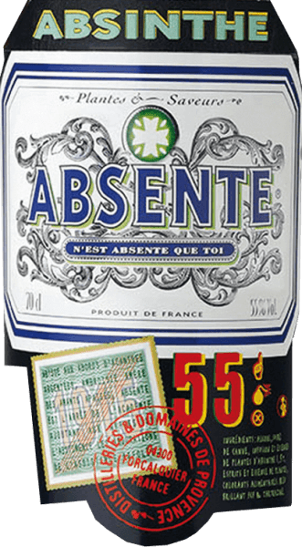 This absinthe is considered a traditional brand and enjoys international cult status as the most famous of all absinthe liqueurs. For almost 70 years, this spirit was banned in their French homeland before it was rediscovered. The spirit of Distilleries et Domaines de Provence captivates with a fresh and mild taste of peppermint and anise. With the maximum permissible value of up to 10mg/l of thujone for liqueurs, this absinthe invigorates the mind and senses. Serving recommendation for  the Distilleries et Domaines de Provence Absente This absinthe is a real treat with water on ice or in appealing cocktails.