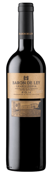 The Gran Reserva by Baron de Ley presents a wonderful ruby red with slight shades of brick red, a sign of its prolonged development. In the nose, the pure tempranillo develops a strong aromatic intensity reminiscent of ripe fruits with hints of balsamico and roasted aromas. After a time in the glass, the aromas turn into a bouquet of spices, herbs and tobacco. In the mouth it appears harmonious and perfectly balanced with fine tannins and at the same time well integrated acidity. In its phenomenal length in the finish, notes of roasted aromas and raisins appear with a pleasant feeling of freshness. 6 hours before consumption decant.