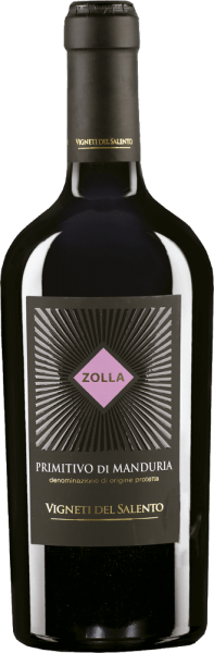 Zolla Primitivo di Manduria Red wine