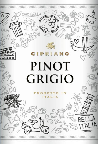 Cipriano Pinot Grigio IGT del Veneto 2019 - Cipriano di Venezia von Cantine Minini