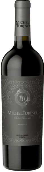 The Select Reserve Tannat from Michel Torino shines in a strong purple colour in the glass. The bouquet reveals intense aromas of cloves, white chocolate and bourbon vanilla, underpinned by mineral notes. The palate is full of personality, with wonderful notes of dark chocolate. This Argentine red wine also impresses with its firm tannin structure and a long, very harmonious finish. Vinification of the Torino Tannat Select Reserve In April the Tannat grapes are harvested for this pure red wine. First the malolactic fermentation is carried out before 70% of the wine is aged in American and French barriques for 12 months. Food recommendation for the Tannat Select Reserve Michel Torino We recommend this red wine from Salta with beef, game, stews, grilled meats, hearty cheeses and Mediterranean cuisine.