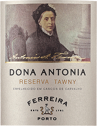 This port wine was created in honour of Dona Antónia Adelaide Ferreira, who laid the foundations of what is now the largest Portuguese port wine cellar. The Ferreira Dona Antónia Reserva Tawny from Porto Ferreira is red in colour with the typical shades of Tawny on the edges. The intense and rich nose pampers with apricot, plum and jam, as well as floral notes. On the complex and full-bodied palate of Dona Antónia Reserva Tawny you can taste a spicy fruit. Its oak barrel maturation gives it delicate ripe notes of spices and dry fruit. The fine finish is long lasting and elegant at the same time. Vinification of the Ferreira Dona Antónia Reserva Tawny from Porto Ferreira The steeply sloping terraces of the vineyards of the Douro Valley, with their hot, dry summers, give the Port wines their typical maturity, strength and fullness, which gives them their unique character. After the manual harvest, the Ferreira Dona Antónia Reserva Tawny is matured for 7 years in oak barrels. Food recommendation for the Ferreira Dona Antónia Reserva Tawny from Porto Ferreira A very versatile companion to classic Portuguese desserts, many cheeses and light starters. But it is also a delight as an aperitif when chilled.