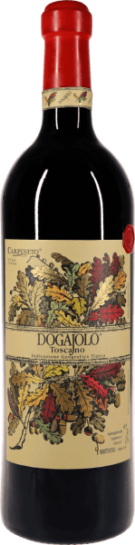 The baby supertuscan classic from Carpineto. In the impressive double magnum bottle, the Dogajolo Rosso is particularly storable.