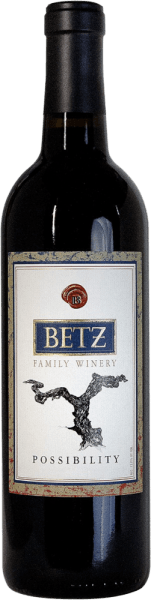 The Frangine of Betz is an excellent red wine cuvée from the grape varieties Cabernet Sauvignon (44%), Syrah (38%), Merlot (12%) and Petit Verdot (6%). In the glass, this American wine presents itself in a rich ruby red. The bouquet unfolds expressive notes of plums, strawberries and pomegranate. On the palate, the aromas of the nose are complemented by a fresh acidity and velvety tannins. The long-lasting finale is accompanied by a very subtle sweetness. Vinification of the Frangine by Betz Family Winery The grapes for this red wine come from the Washington – Columbia Valley region . The harvested material is immediately taken to the winery and selected. The mash is then fermented in stainless steel tanks. For the velvety character, the wonderful aromas and the strong colour, the ageing in French oak barriques ensures for 12 months. Food recommendation for the Betz Frangine Enjoy this dry red wine from Washington with roast geese with potato dumplings and blueberry, potato gardening with beef or with sheep's milk cheese, such as pecorino. Awards for the Betz Cuvée Frangine Vinous: 90 points for 2014 Robert M. Parker: 90-92 points for 2014 Wine Spectator: 89 points for 2014