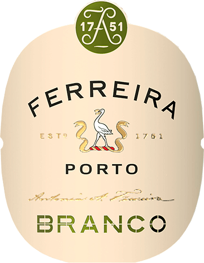 This straw-yellow port presents itself balanced and wonderfully soft. The Ferreira White Port of Porto Ferreira has a fragrance of fruit, freshly cut flowers and fine woody notes. This port shines with a soft and balanced mouthfeel. Vinification of Porto Ferreira White Port Due to the enormous exposure to the sun on the terraces of the Douro Valley slopes during growth, the grapes develop a great richness, strength and ripeness, which characterize the typical character of the port wine. The grapes are harvested by hand and matured for 3 months in oak barrels. Recommended food for the White Port of Porto Ferreira Ferreira White Port is excellent as an aperitif, with dried fruit or as a long drink with tonic, lime and ice.