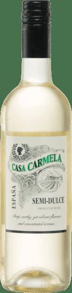 Casa Carmela Semi-Dulce Blanco DO 2020 - Bodegas Castaño