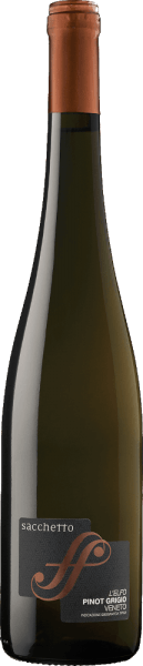 The L'Elfo Pinot Grigio Veneto IGT by Sacchetto is reflected in the glass in an intense straw yellow, which has a copper-colored shimmer. The delicate bouquet of this white wine is characterized by the pleasant aromas of apricots and lime blossoms. On the palate, this full-bodied Pinot Grigio is reminiscent of ripe mangoes with every sip. This intense and balanced wine is the perfect companion in summer. Vinification for the Sacchetto L'Elfo Pinot Grigio The grapes for this pure Pinot Grigio come from Veneto. After harvesting, the grapes are macerated under temperature control. The pressing is followed by fermentation of the must with selected yeasts. In stainless steel tanks, removal is then carried out at a controlled temperature, which is followed by refinement in the bottle. Food recommendation for the Sacchetto L'Elfo Pinot Grigio Enjoy this dry white wine with appetizers with fish and seafood, soups or cooked chicken.
