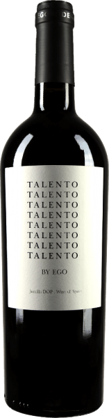 Ego Bodegas' talent is vinified from Syrah and Monastrell grape varieties. The colour is bright ruby red with cherry red highlights. In the nose strong aromas of red berries unfold. Clear notes of blackberry and currant can be heard. On the palate, the Spanish red wine is very pleasant and balanced and offers a fruity taste. The finish is accompanied by beautiful tannins. Vinification of the talent of Ego Bodegas At constant temperature, the grapes of Talento are fermented for 10 to 15 days. Afterwards, the red wine from Spain matures for 2 months in American oak. Food recommendation for the ego Bodegas Talento The red wine is a wonderful accompaniment to hearty meat dishes and spicy, ripe cheeses.
