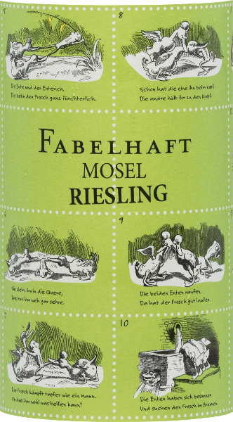 The  Fabulous Riesling Moselle from Fio Weine is a wonderfully fruity-fresh Riesling vinified by the three winemakers Daniel Knöpfel, Dirk van der Niepoort and Philipp Kettern in the Palatinate.  In the glass, this wine shines in a bright yellow with greenish reflections. The aromatic bouquet reveals fresh aromas of ripe apples and juicy peaches. The typical Riesling aroma continues harmoniously on the palate. This German white wine convinces with its wonderful balance between the well-integrated acidity and the fine sweetness. The finale once again offers a fruity variety of aromas and a medium length.  Food recommendation for  the Fio wines Fabulous Riesling Moselle Enjoy this dry white wine from Germany with crisp salads with turkey breast strips. But also solo on the balcony or terrace, this wine is a real treat.