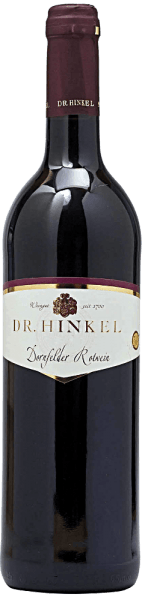 This mild red wine shows an animated nose with sweet cherry fruit and a hint of spice. The Framersheimer Zechberg dornfelder quality wine from Dr. Hinkel to the fine juicy, crisp taste and the dominant fruit sweetness reveals significant cherries with red fruit garden again. Despite its compact body, and the vitality he is very round, soft and well balanced.