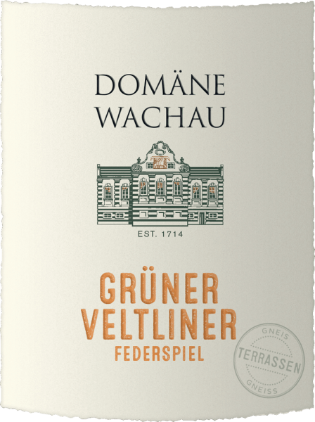 The Grüner Veltliner Federspiel Terrassen by Domäne Wachau is a varietal, balanced white wine from the Austrian wine-growing region Wachau in Lower Austria. In the glass, this wine shines in a great green yellow in the glass. The bouquet is characterized by intense, fresh aromas of yellow apples and white pepper. Add some exotic fruit and delicate herbal notes. On the palate, the domain Wachau Grüner Veltliner Federspiel clearly focuses on the grape variety fruit. This Austrian white wine shows itself with a refreshing acidity, juicy and harmonious with fruity and spicy aftertaste. Vinification of the domain Wachau Federspiel Terraces Grüner Veltliner This Grüner Veltliner is made from grapes from steep terraced vineyards. In mid-October, the grapes for this wine are carefully picked by hand. In the wine cellar of the domain Wachau, the harvested material is strictly selected and pressed. The must is pre-clarified overnight bycold sedimentation and fermented the following day in a stainless steel tank at cool temperatures. The ageing is carried out exclusively in the stainless steel tank so that the fresh grape variety fruit is preserved. This creates a clear, balanced wine that you should definitely try! Food recommendation for Federspiel Terrassen Grüner Veltliner Domäne Wachau Serve this dry white wine from Austria at 9°C with baked dishes such as Wiener Schnitzel, with poultry or with various dishes with fish. But also solo, this wine is a delight. Awards for the Grüner Veltliner Domain Wachau Federspiel Terraces Wine Enthusiast: 91 points for 2019