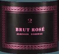 Vorschau: Brut Rosé 2 Sekt - Aldinger - Wöhrwag