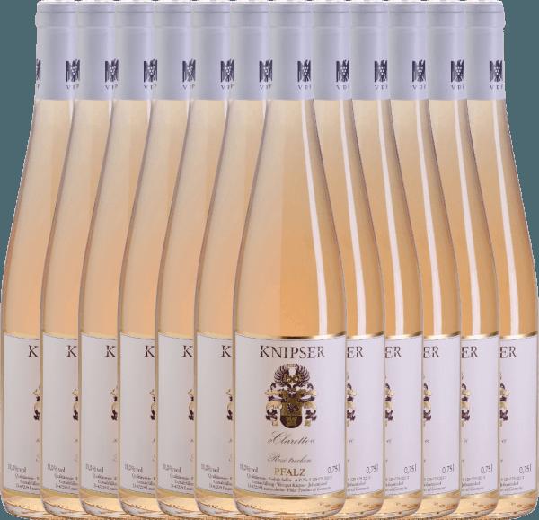 12er Vorteils-Weinpaket - Clarette Rosé 2020 - Knipser