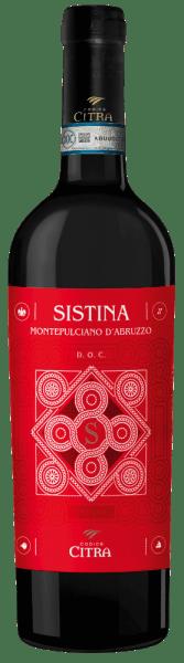 Sistina Montepulciano d'Abruzzo DOC 2019 - Citra Vini