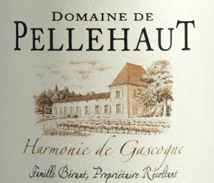 """The """"Harmonie de Gascogne"""" Rouge from Domaine de Pellehaut envelops the glass in a bright cherry-red colour with purple reflections. The fragrant, complex bouquet is pleasing with fresh and intense aromas of cassis, cherries and blackberries accompanied by peppery notes that give strength. The aromas also persist in the mouth, where they provide a full-bodied, smooth and fleshy mouthfeeling with ripe, soft tannins. In the finish you can feel a nice freshness. The red wine cuvée made of 50% Merlot, 20% tannat and 15% Cabernet Sauvignon and 15% Syrah is, due to its smooth and fruity appearance, a food companion that is fun, but also a pleasure to enjoy on its own. Food recommendation for the """"Harmonie de Gascogne"""" Rouge It can be served as a wonderful aperitif and accompaniment to grilled red and white meats and mature hard cheese."""