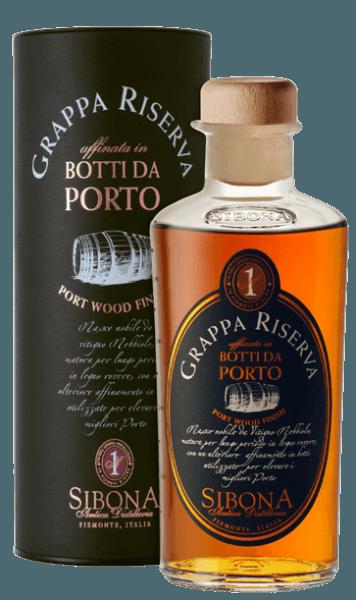 Grappa Riserva Botti da Porto - Sibona