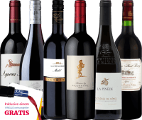 Vorschau: 6-pack - Wonderful Red Wines from France