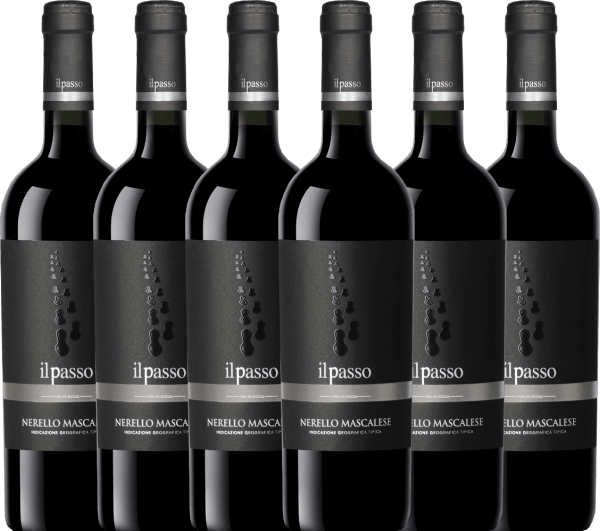 6er Vorteils-Weinpaket - Il Passo Nerello Mascalese 2019 - Vigneti Zabu
